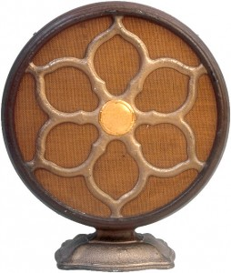 antique radio research - early speaker