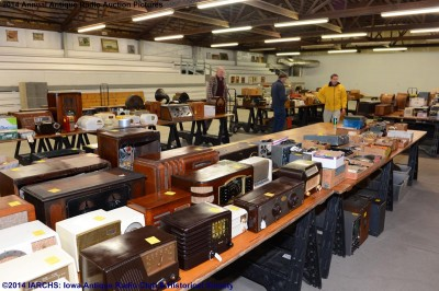 Antique Radio Auction Web Pages