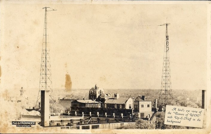 WOC FIRST Pioneer IA Radio Station