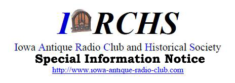 Iowa Antique Radio Club & Historical Society